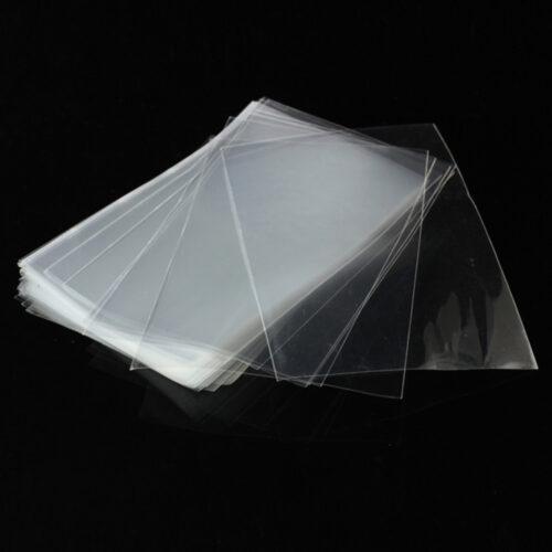 Clear Custom Printed Flat Plastic Poly Bags
