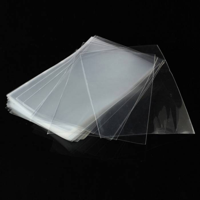 Clear Custom Printed Flat Plastic Poly Bags