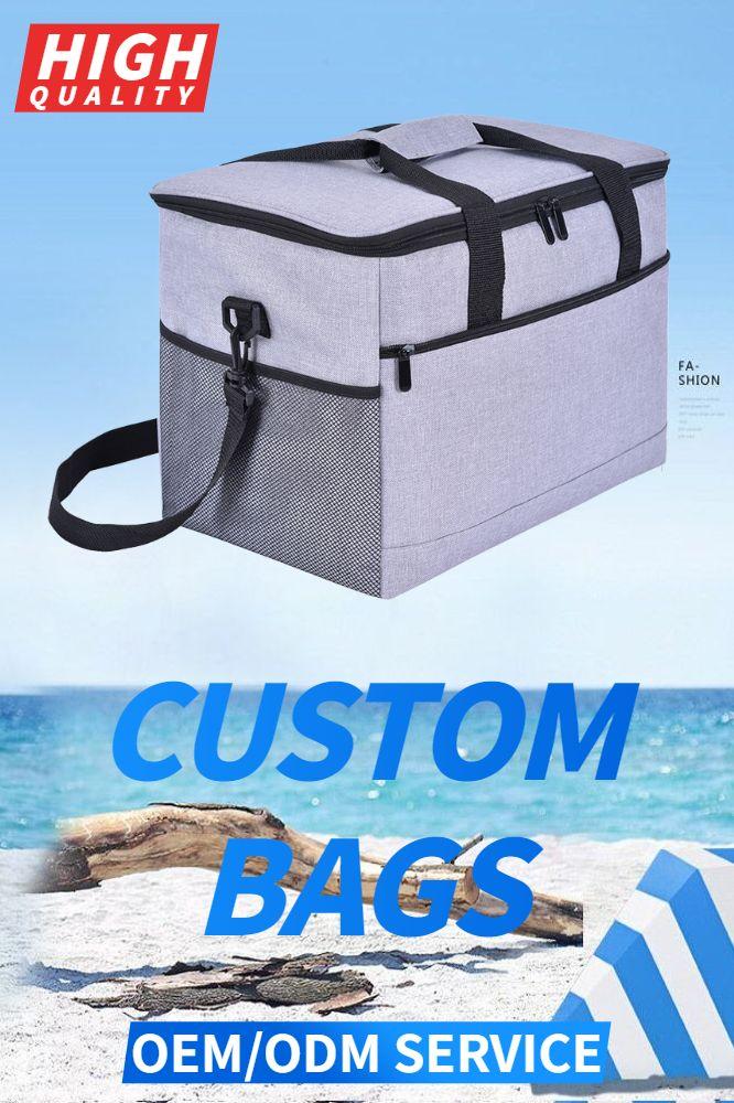 Custom bag banner