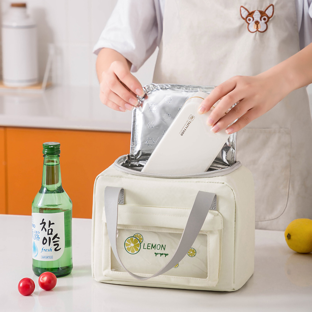 Portable Insulated Lunch Cooler Tote Ice Bags