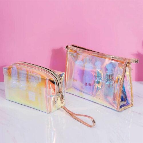 Waterproof Printed PVC Zipper Cosmetic Bags