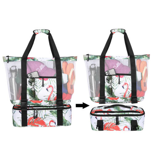Detachable Picnic Insulation Cooler Tote Bag