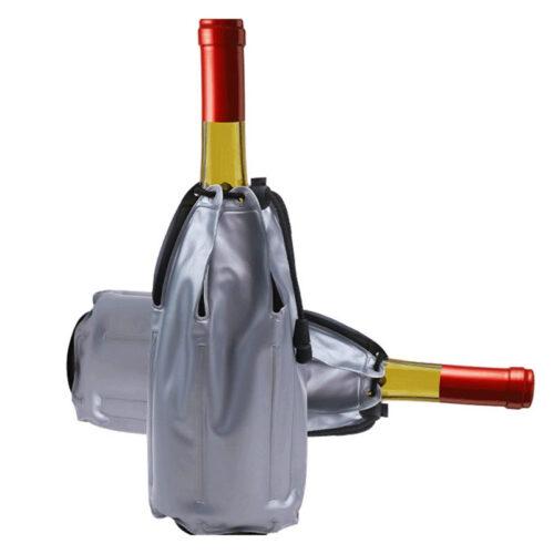 Freezer Gel Wine Bottle Cooler PVC Bags