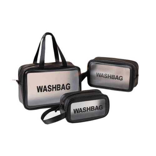 Custom Transparent Clear PVC Cosmetic Makeup Bag